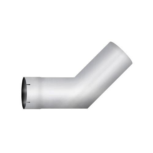 "Aluminized Elbow, 5""  Diameter, UNIVERSAL 45° Sectioned Application, 5"" OD X 5"" OD 10"" X 10"" Length"