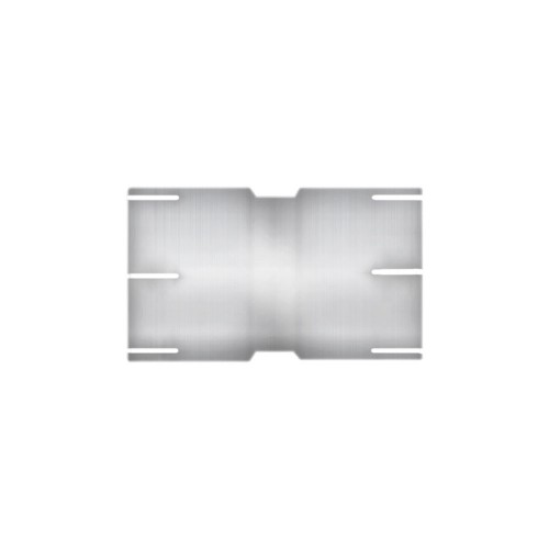 "Aluminized Coupler, 5"" Diameter, Universal Application, 5"" ID X 5"" ID, 6"" Length"