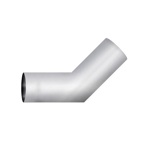 "Aluminized Elbow, 5""  Diameter, UNIVERSAL 45° Sectioned Application, 5"" ID X 5"" OD 10"" X 10"" Length"